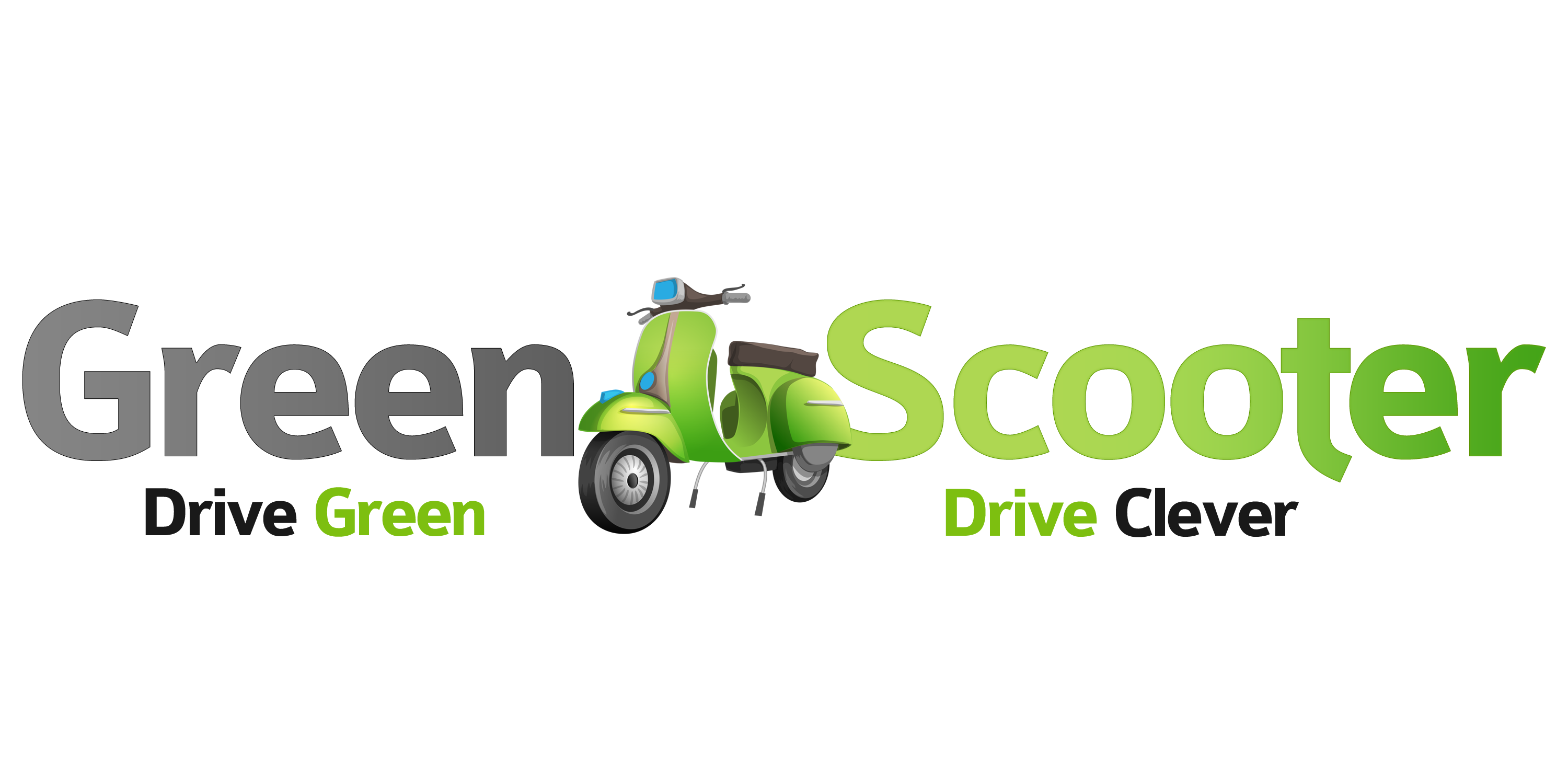 Green Scooter - Drive Green Drive Clever-Logo